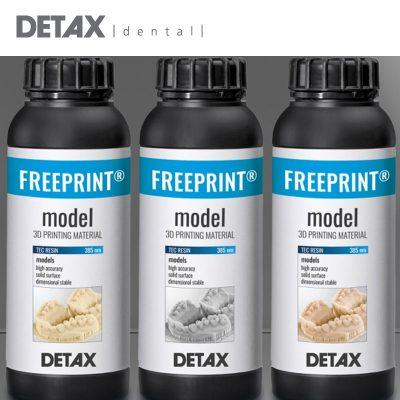 Detax 3D Resins and Materials