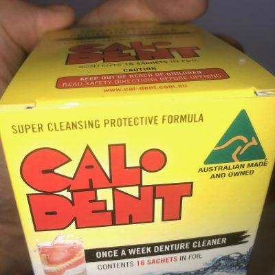 Caldent Denture Cleaner